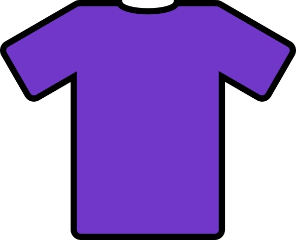 Shirt clipart purple Clip Free in Shirt svg