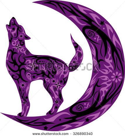 Wolf clipart purple Best Pinterest images http://thumb1 Wolf
