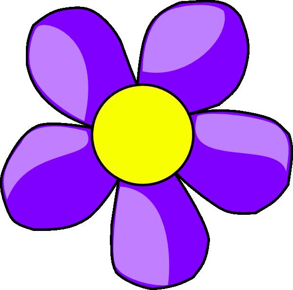 Yellow Flower clipart purple flower Clip Art Free purple%20flower%20clip%20art Clipart