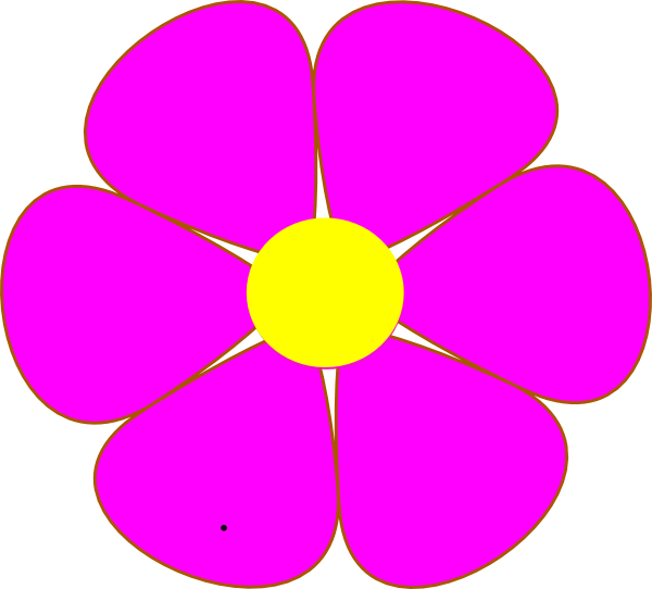 Pink Flower clipart cute flower Clipart And Purple Pink Clipart