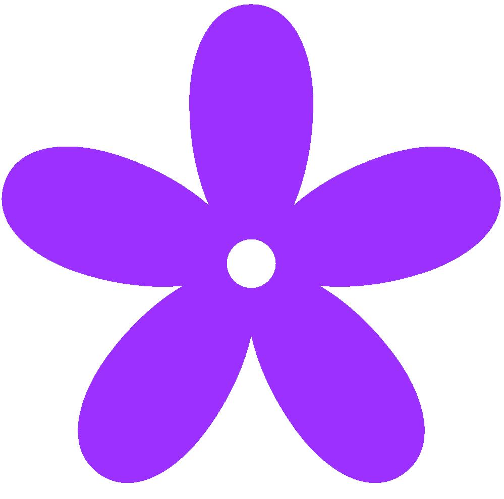 Purple Flower clipart Panda Clipart Art Purple Border