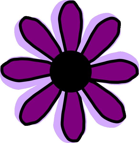 Purple Flower clipart Images collection Purple Flower Clip
