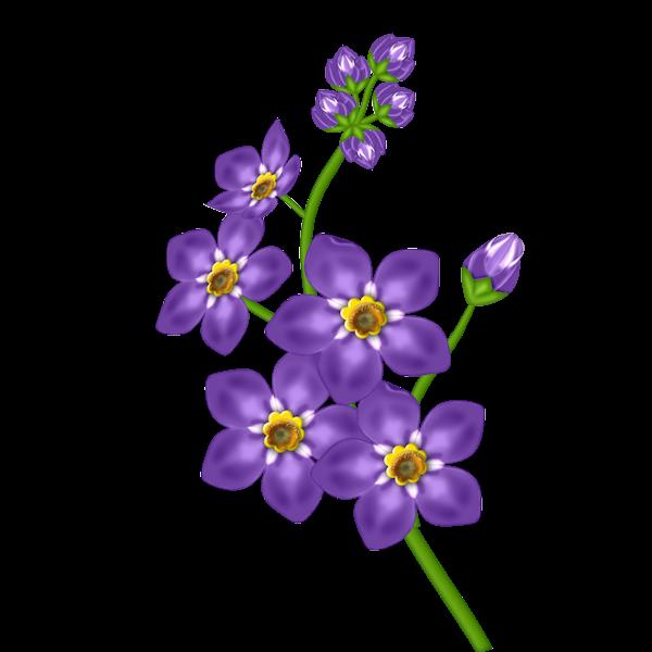 Purple Flower clipart Clipart background Purple Flower Art