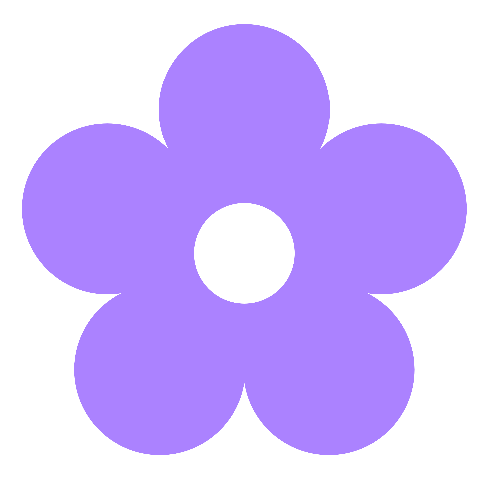 Purple Flower clipart Free Images Clipart Purple Clip