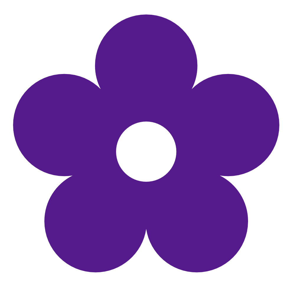 Purple Flower clipart Panda Clipart Art flower Flower