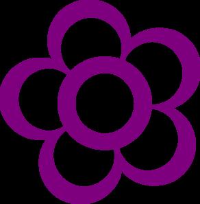Purple Flower clipart Panda Clipart Clipart Pink Purple