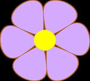 Purple Flower clipart Purple clipart Clip Flower Art