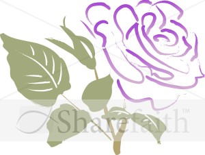 Rose clipart sympathy flower #1