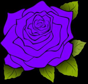 Purple Rose clipart iris Com Clip Purple Purple art