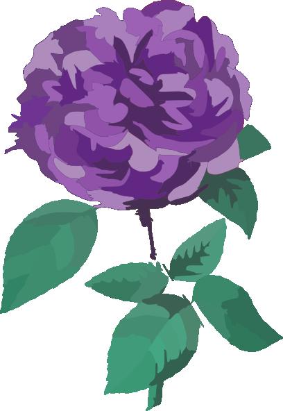 Purple Rose clipart Others Purple · Inspiration Art