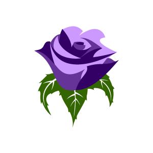 Purple Rose clipart Download Clipart Purple Purple Clipart