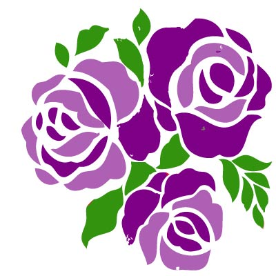 Purple Rose clipart Download Free Clipart Free Purple