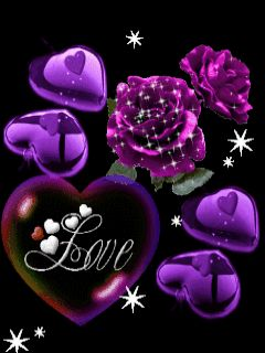 Purple Rose clipart animated Find images best Gifs on
