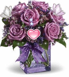 Purple Rose clipart animated Find Animated Pinterest on 228