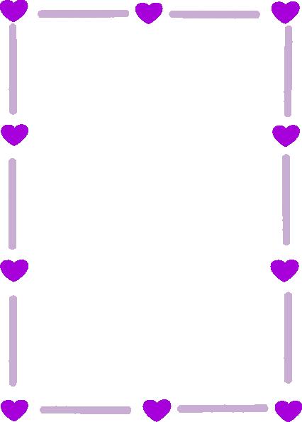 Purple Rose clipart fancy heart Art online Page on art