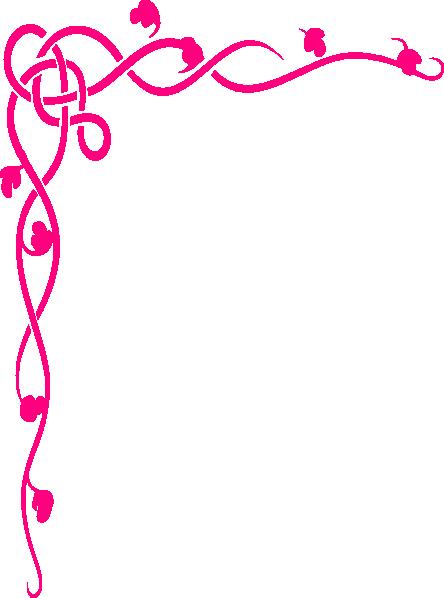 Purple Rose clipart fancy heart Clipart Art Images Border Clip