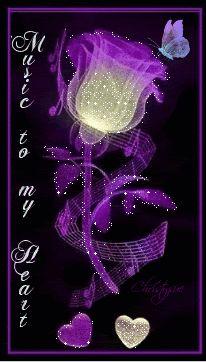 Purple Rose clipart fancy heart Morado Pinterest images on 119