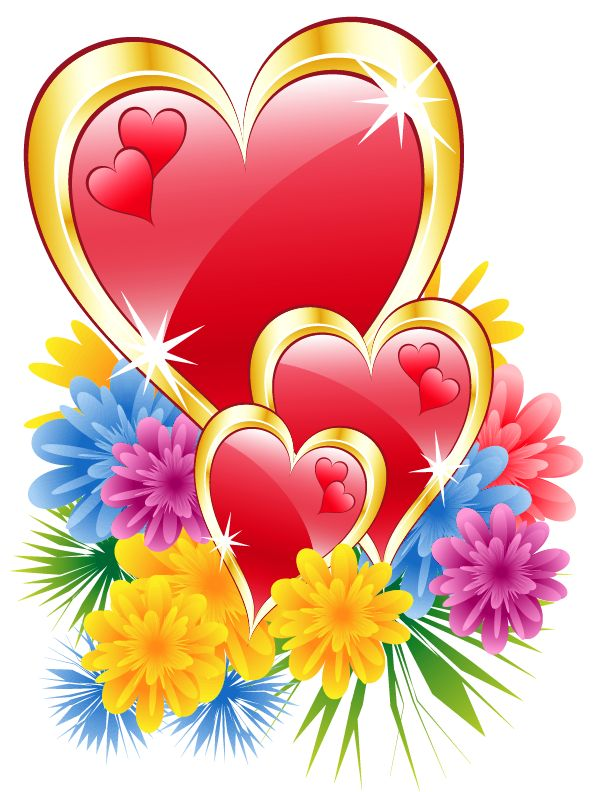 Purple Rose clipart fancy heart Images Heart designs best Heart