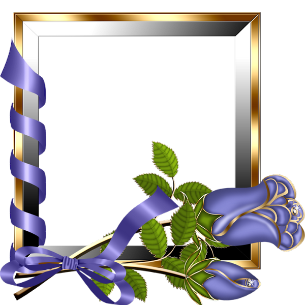 Purple Rose clipart frame Frame Purple Roses Tags: frames