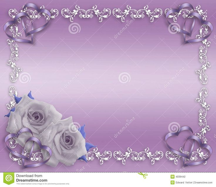 Purple Rose clipart marriage #10