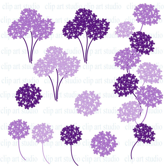 Purple Rose clipart marriage #2