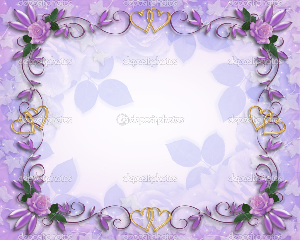 Purple Rose clipart marriage #5