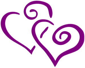 Purple Rose clipart marriage #14