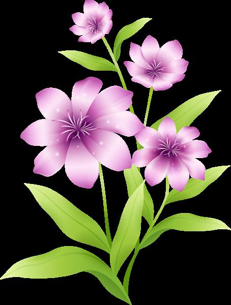 Pink Flower clipart large flower Large Pink Light Light Large