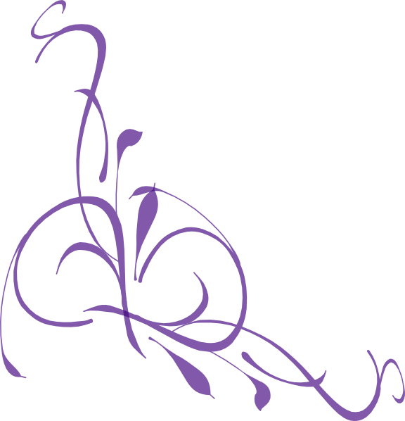 Swirl clipart lilac Clipart Purple Free Lines Clipart