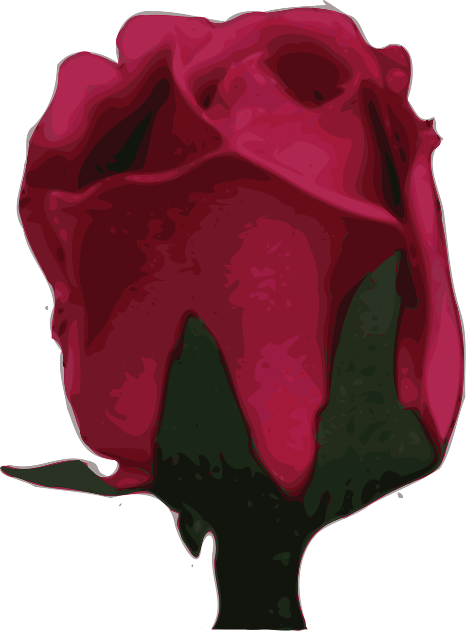 Purple Rose clipart romantic #15