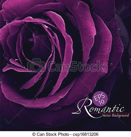 Purple Rose clipart romantic #5