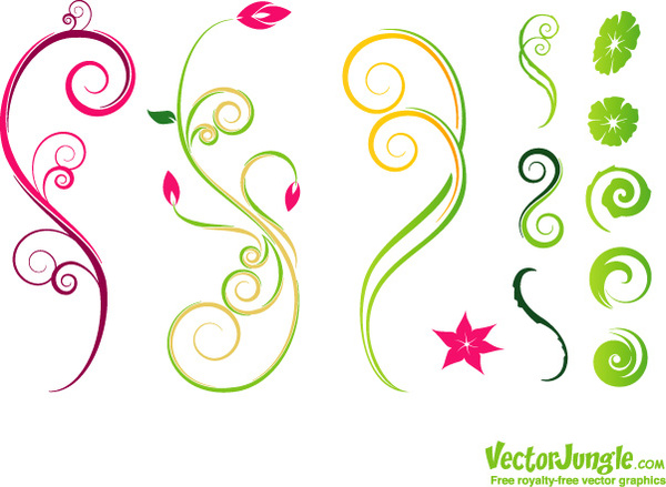 Decoration clipart vine Flower (590 free commercial for