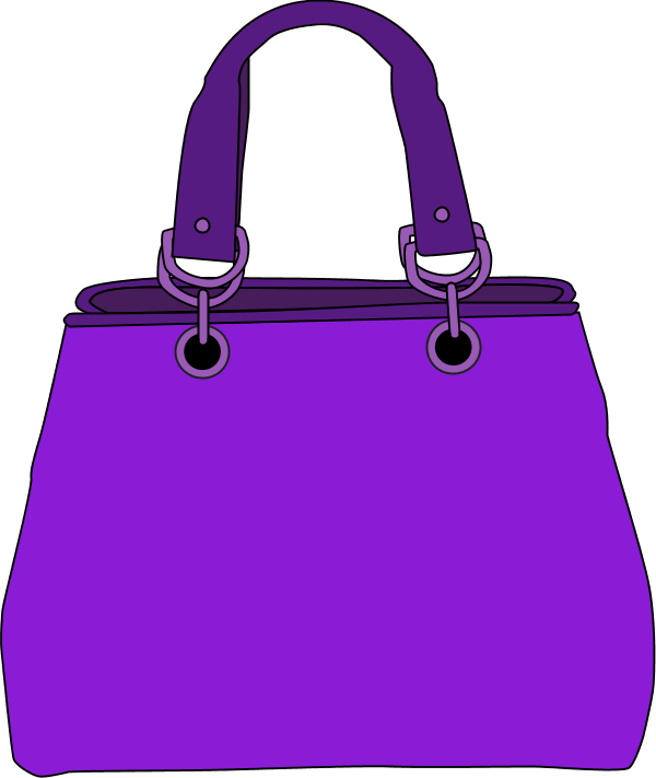 Purse clipart small bag Clothes bag clipart #26491 clip