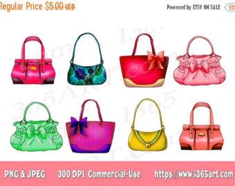Purse clipart tote bag Clip Designer JPEG Clipart Purse