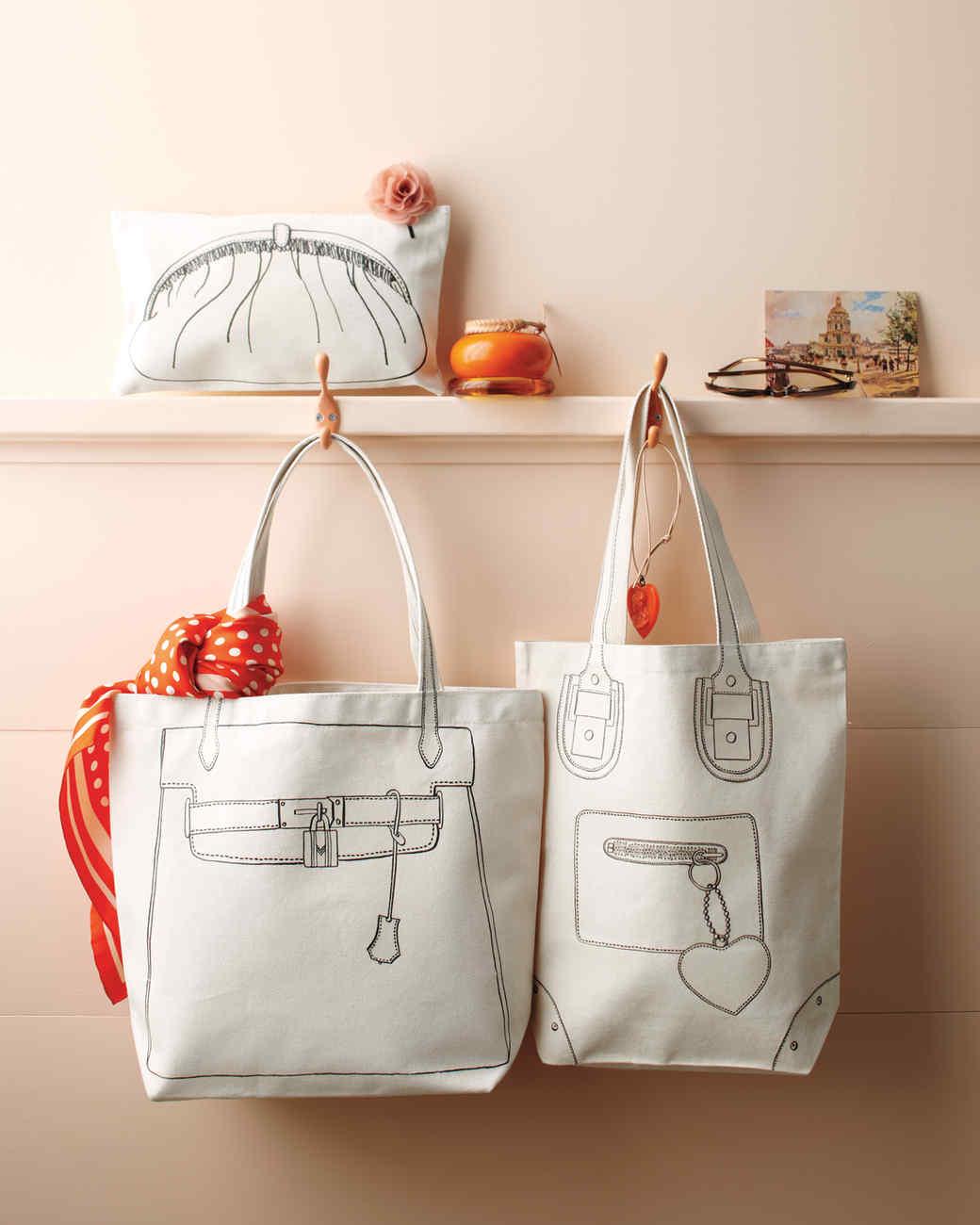 Purse clipart tote bag Martha Bags and L'oeil Trompe
