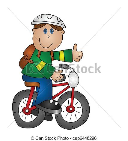 Pushbike clipart circus A on  bicycle boy