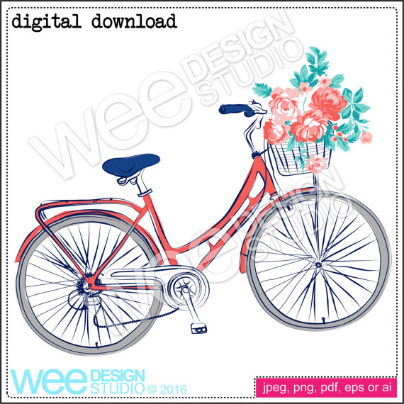 Pushbike clipart circus Digital png  bike Studio