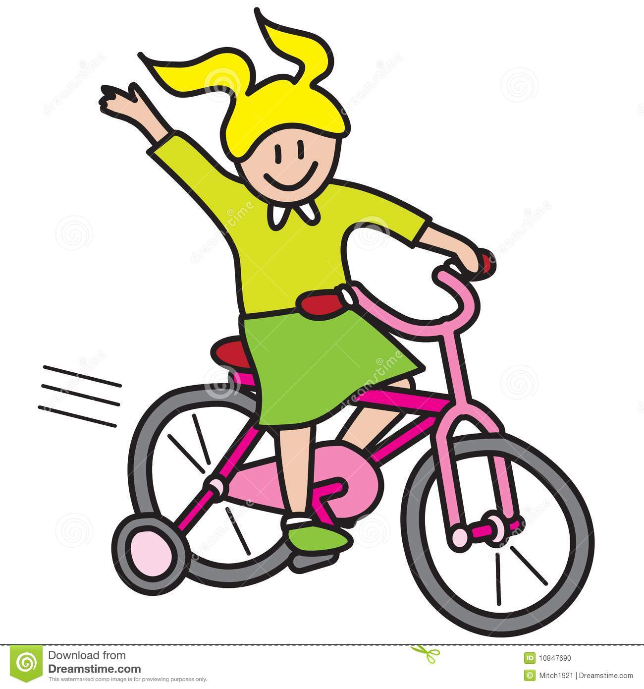 Pushbike clipart circus Bike a Kid bike riding