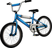 Pushbike clipart colorful Scooter outline GoGraph Clip Bike