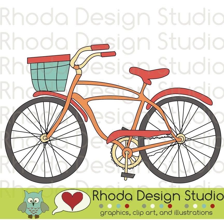 Basket clipart bike With Basket Vintage Bicycles Basket