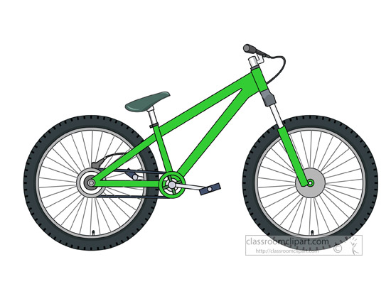 Bicycle clipart downhill Cycle  Graphics jump dirt