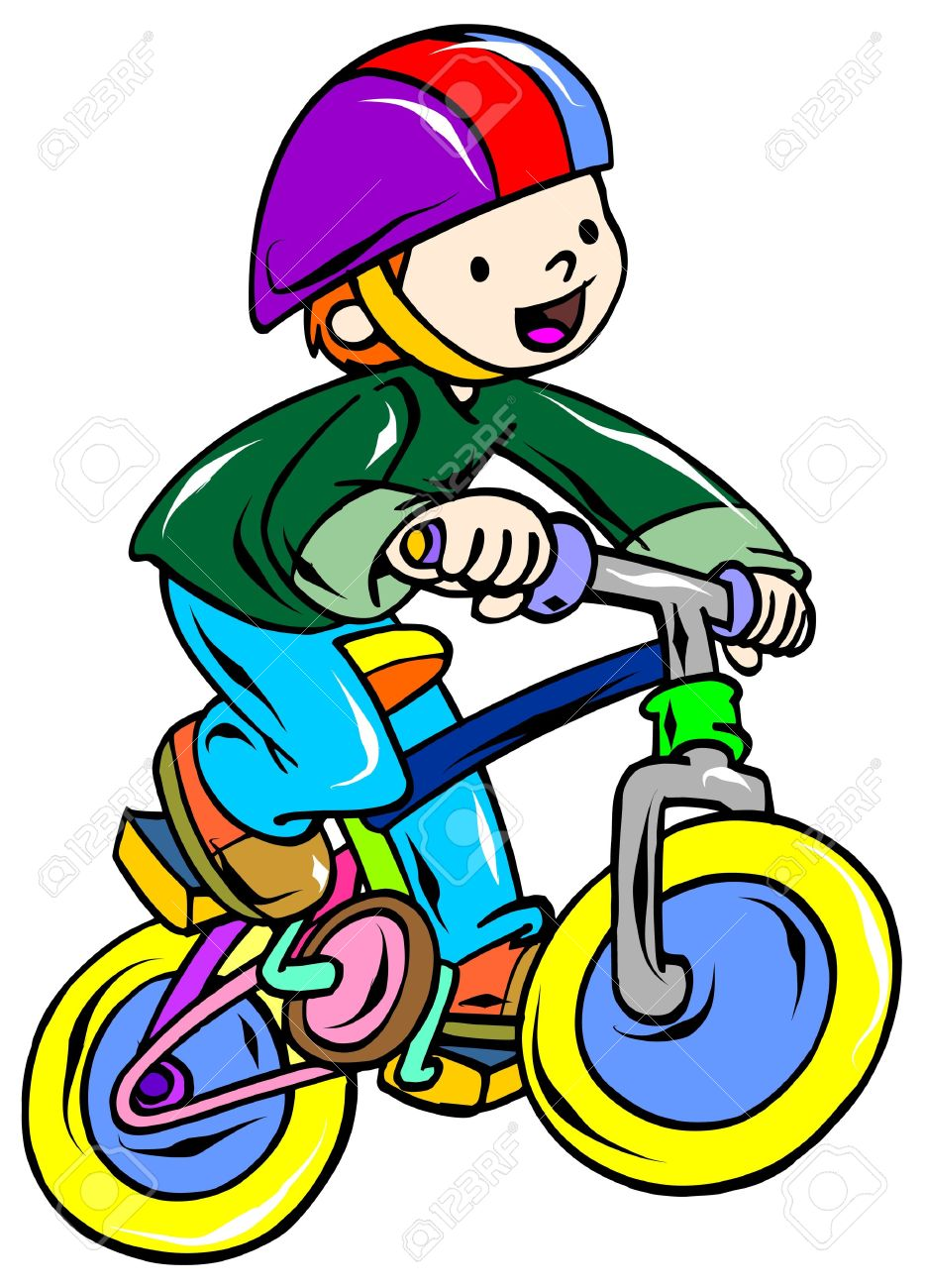 Biker clipart riding bicycle Bike a clipart riding Bicycle