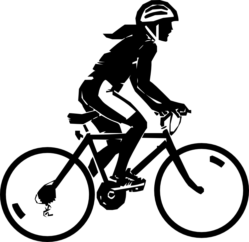 Bike clipart female cyclist Images Clipart Clipart And Panda