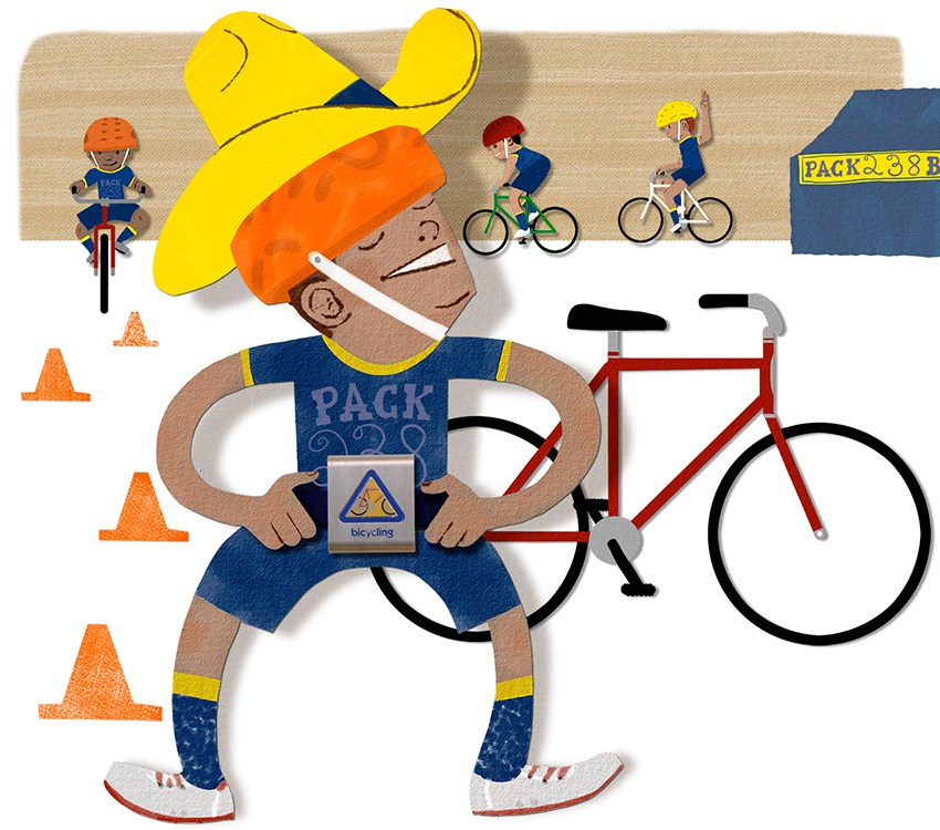 Bike clipart bike rodeo A Scouts for bike bicycle