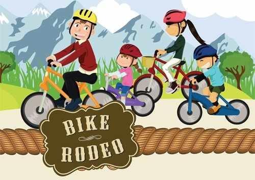 Bike clipart bike rodeo Rodeo Bike Clipart 500x353 Resolution