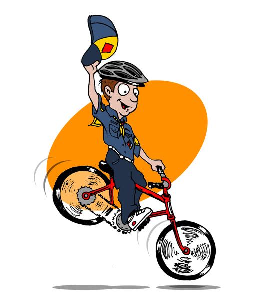Bike clipart bike rodeo Cub 2016 Scout TX Round