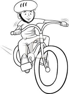Bike clipart bike rodeo White Art Cartoon Free Clip
