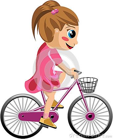 Bike clipart her Clipart collection bike girl Girl