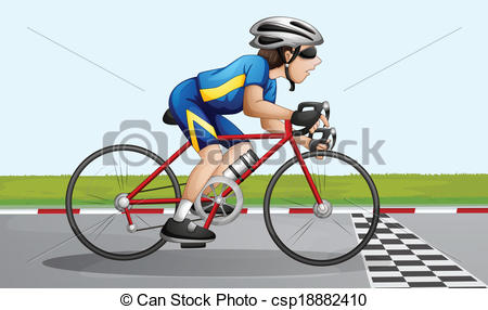 Bike clipart cycle race Bike racing Clip racing bike