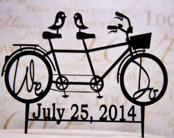 Pushbike clipart double With Etsy We Two Do